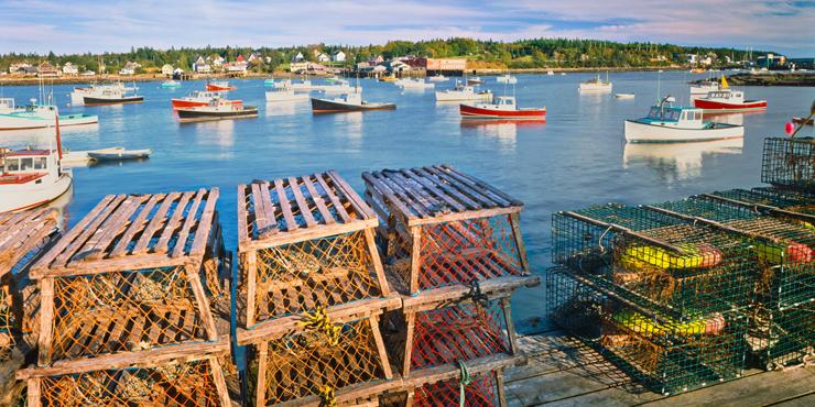 Portland Maine Harbour